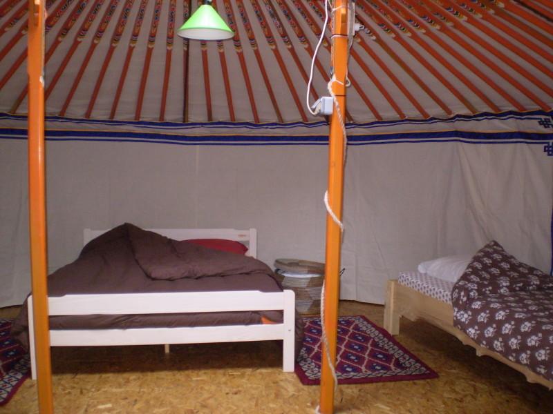 Camping Naturel Yourtes Et Tentes El Manau A Nohedes